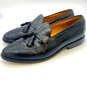 Allen Edmonds Leather Tassel Manchester Loafers 12